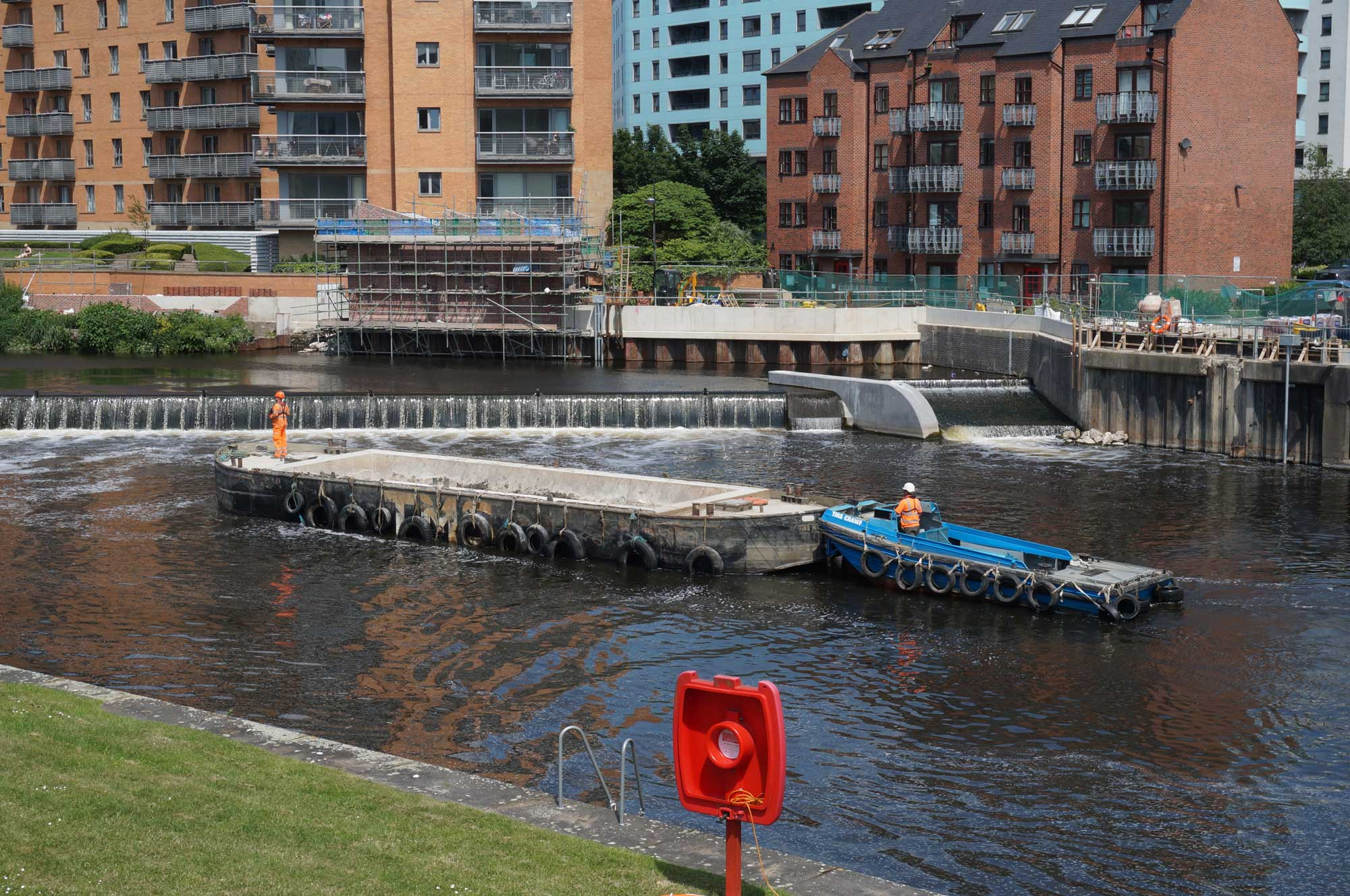 Leeds flood Alleviation Scheme